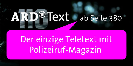 Polizeiruf-Magazin